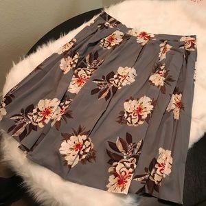 SHEIN Floral Skirt NWOT